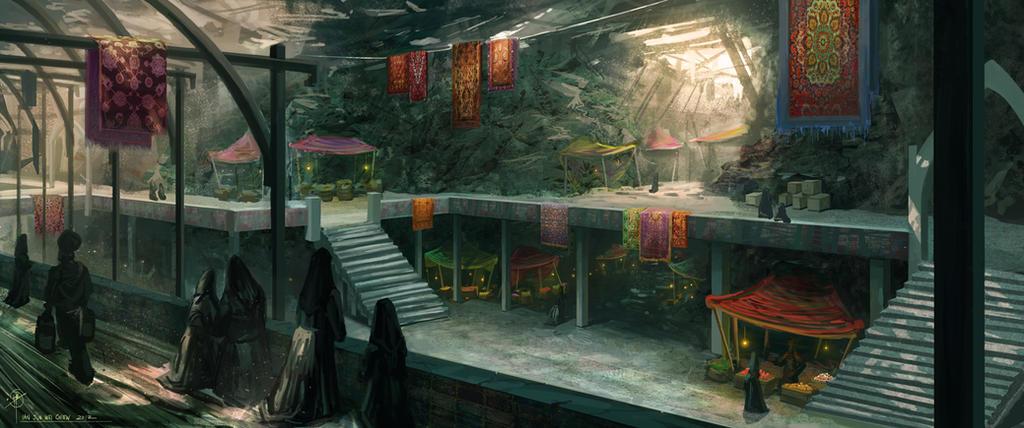 Underground Market by iancjw