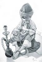 Hookah Guy by iancjw