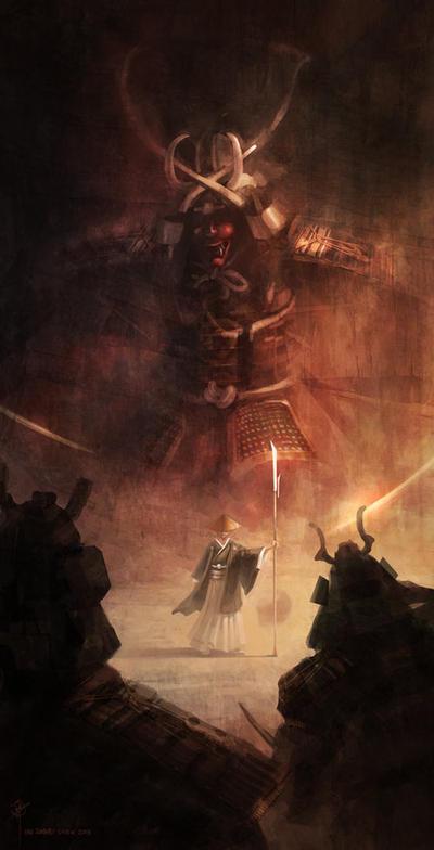 Samurai 1/3 by iancjw
