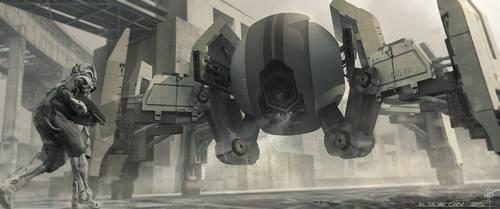 Drone Encounter by iancjw