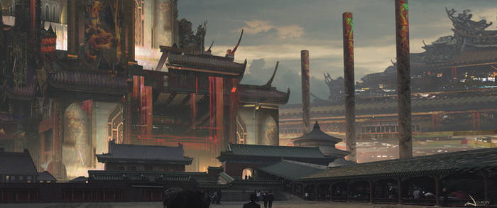 Temple Ashen by iancjw