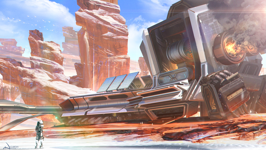 Desert Forge by iancjw