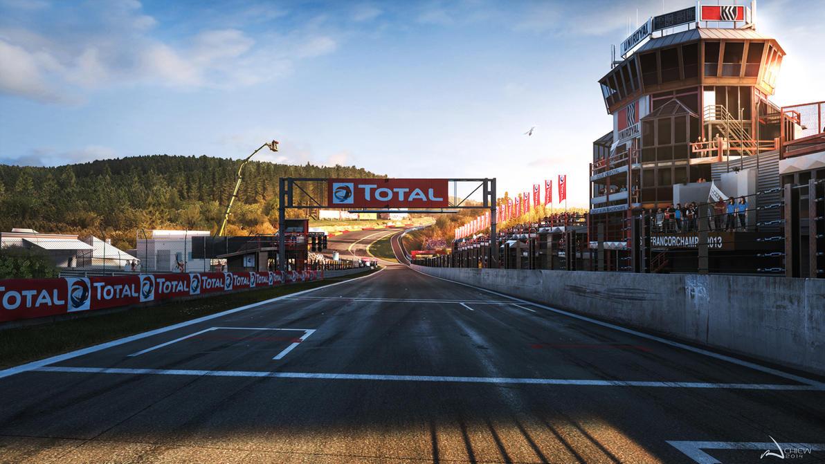 Forza Motorsport 6 - Spa by iancjw