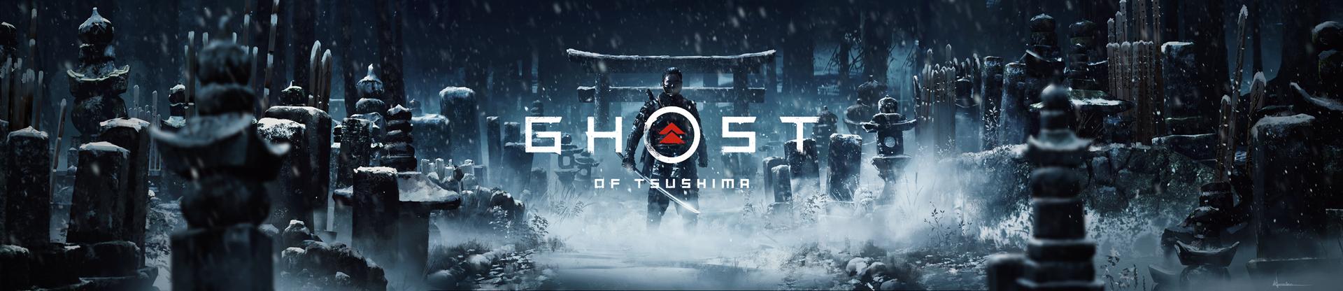 Ghost of Tsushima Key Art by iancjw