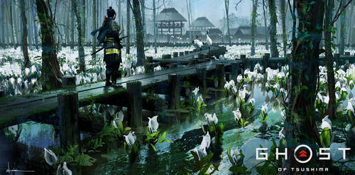 Ghost of Tsushima - White Flowers
