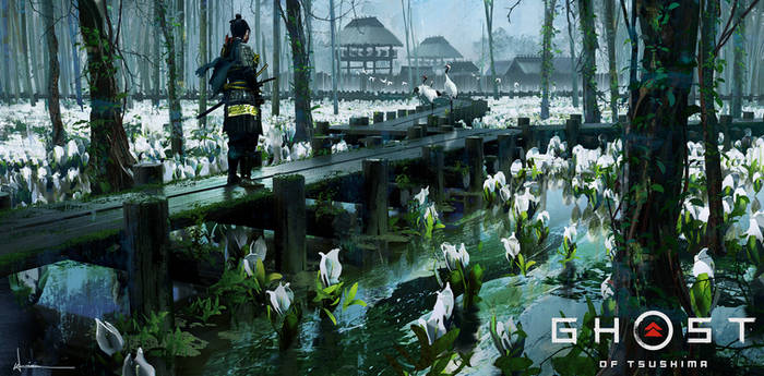 Ghost of Tsushima - White Flowers