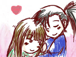 Snuggle by Biruchi