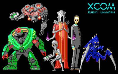 XCOM Aliens by drysmian