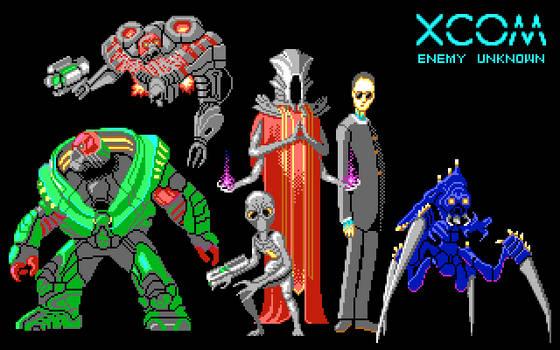 XCOM Aliens