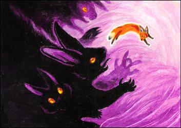 Purple nightmare -portfolio- by MinnaSundberg