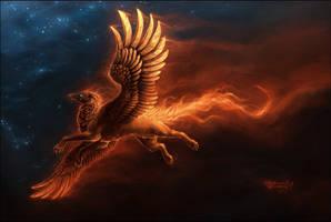 Fire, Stars and Fire by MinnaSundberg