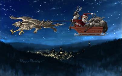 Holiday card by MinnaSundberg