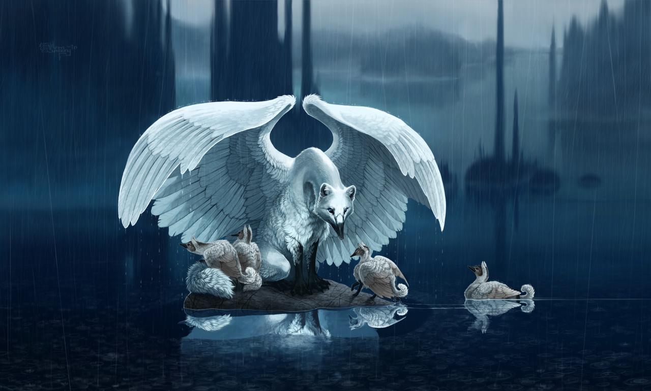 Fantasy water creatures - photo#20
