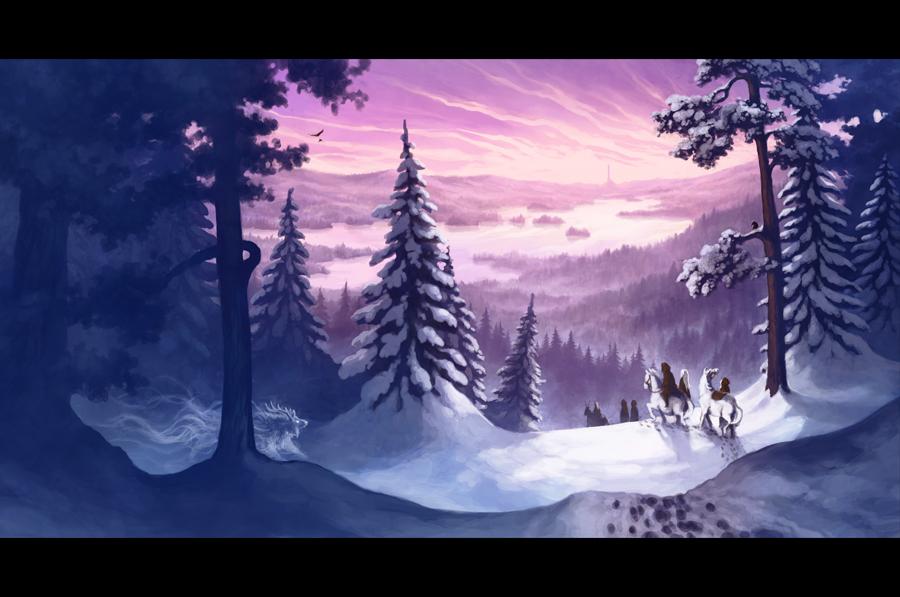"""The Winter Tree""-cd cover by MinnaSundberg"