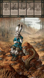 The Hare and the Viper by MinnaSundberg
