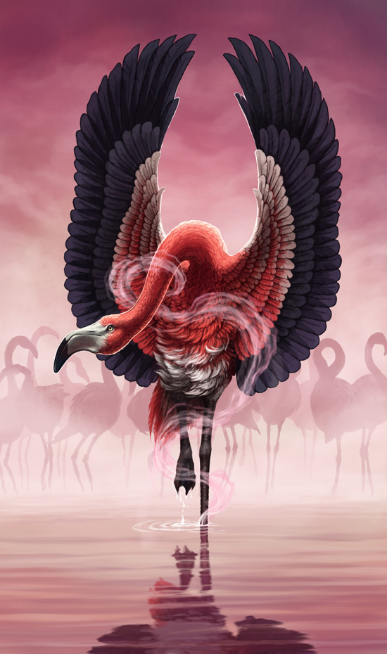 Curse of the Flamingo by MinnaSundberg