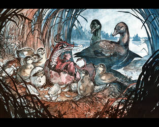 The very ugly Duckling by MinnaSundberg