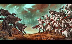 Team Sheep by MinnaSundberg