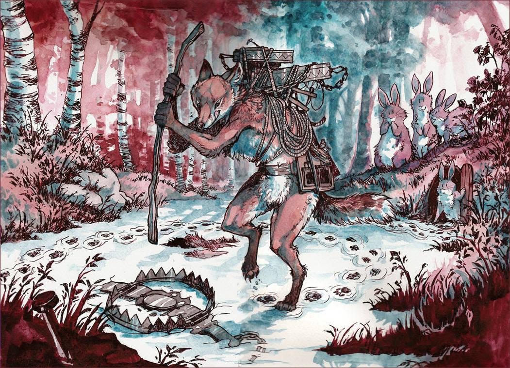 The Trapster by MinnaSundberg