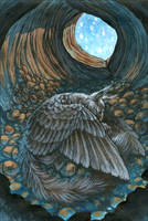 Tiny little Gryphon's Nest by MinnaSundberg