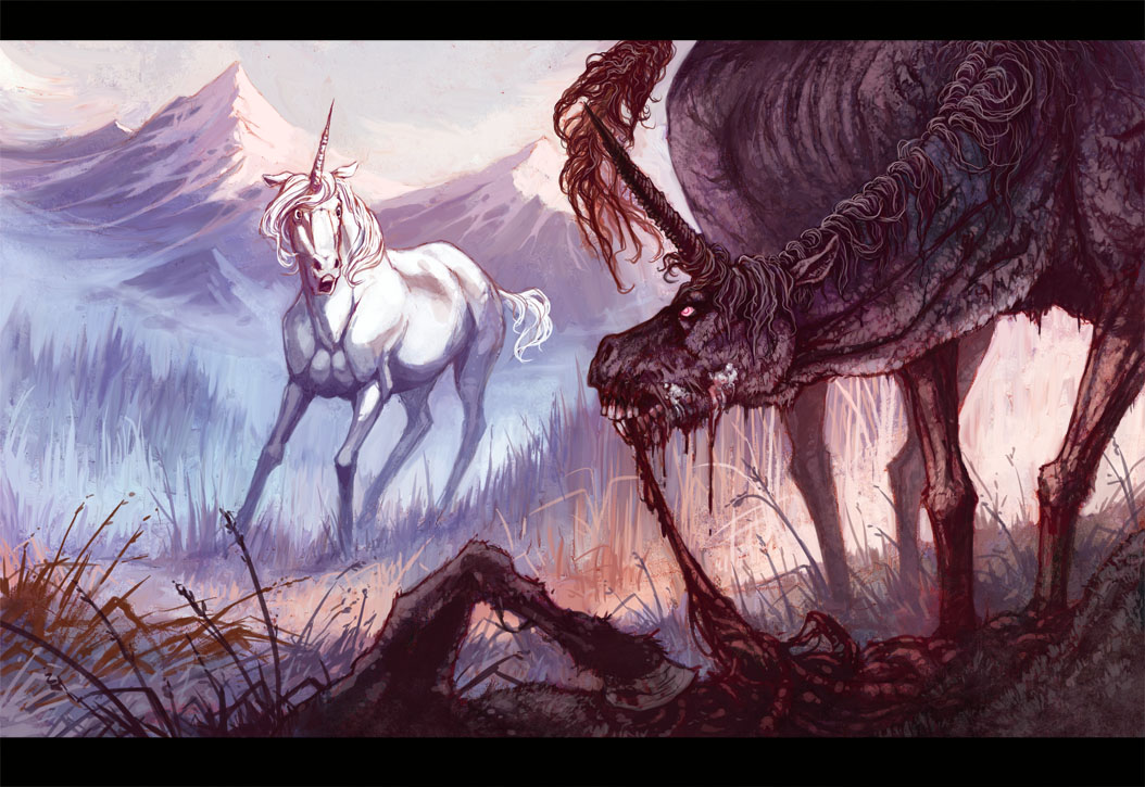 The Rabid Unicorn By MinnaSundberg On DeviantArt