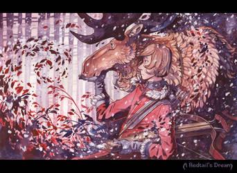 Moose Hunter by MinnaSundberg