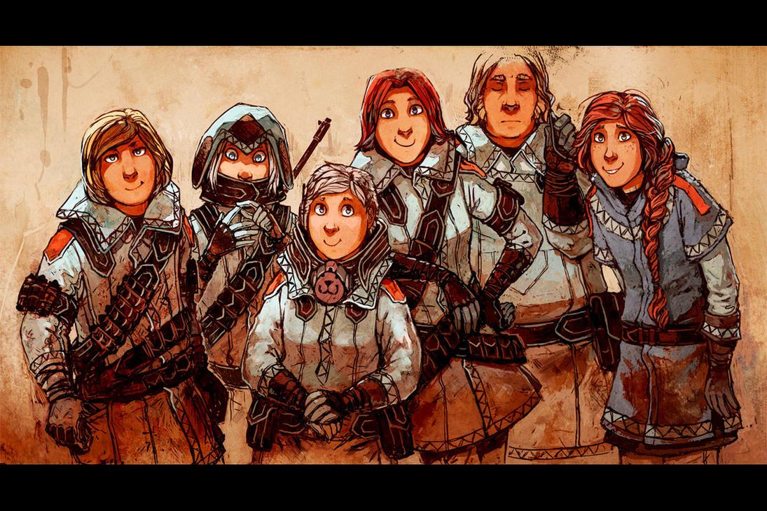 Main Crew by MinnaSundberg