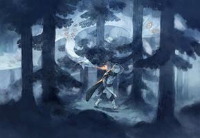 Dragon Hunt by MinnaSundberg