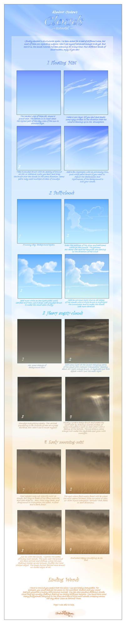 Clouds tutorial by MinnaSundberg