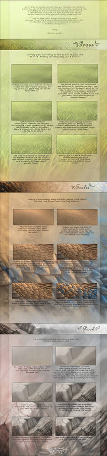 Various textures tutorial