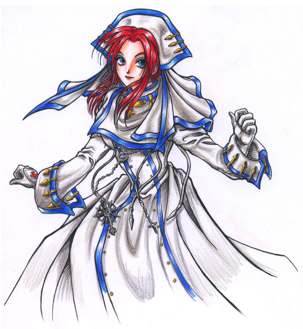 Esther Blanchett Trinity Blood by ~Calaverita on deviantART
