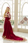 Red Gown I