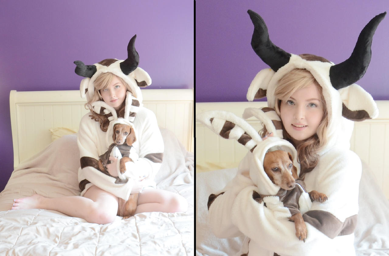 Appa and Momo by AngelaClaytonCosplay