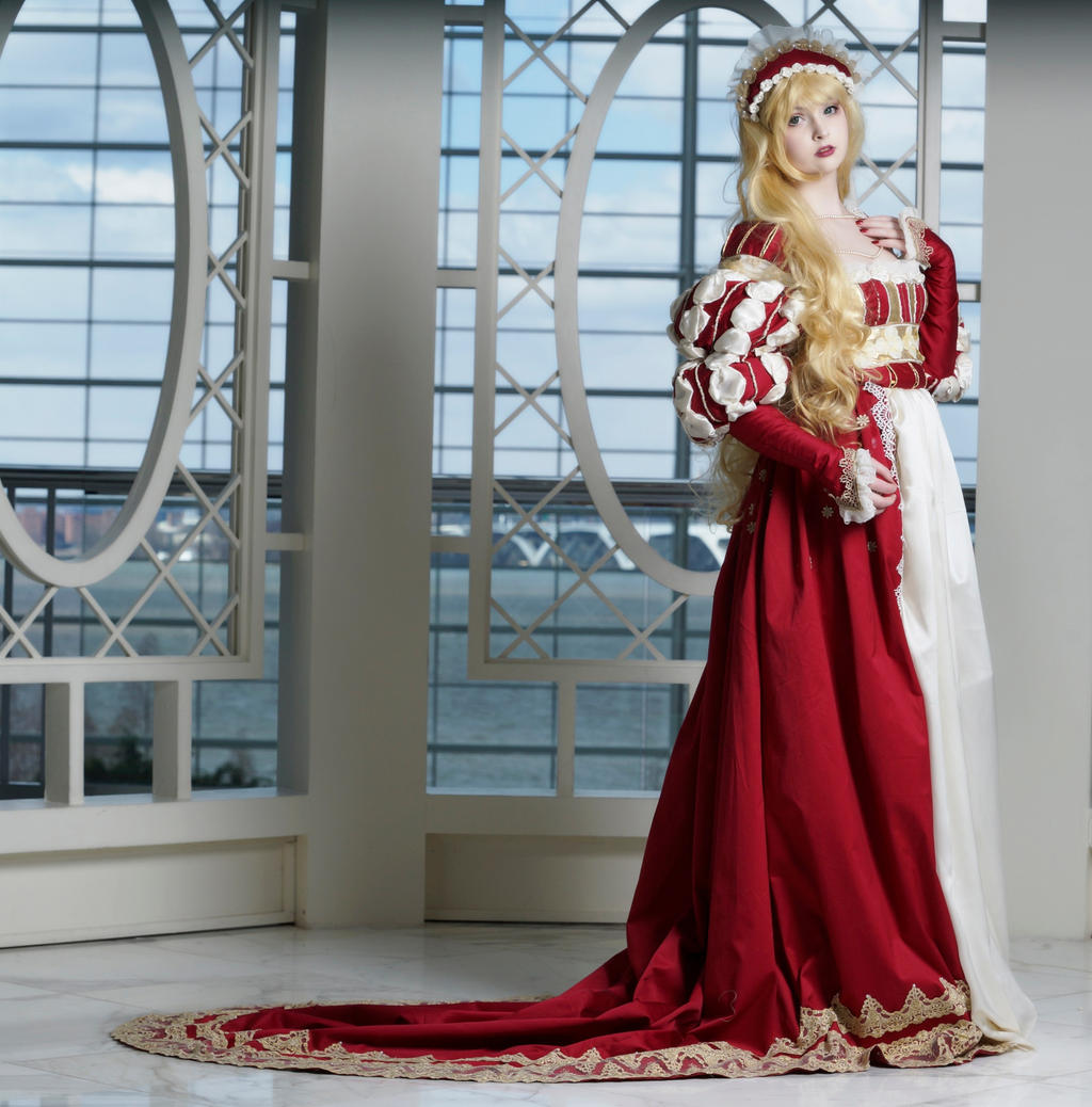 Red Gown II by AngelaClaytonCosplay