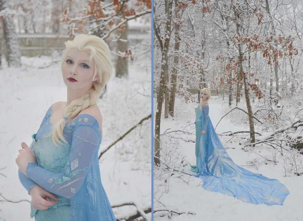 Elsa The Snow Queen by AngelaClaytonCosplay