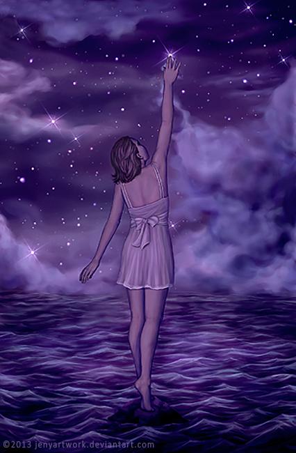 Touching the Stars by JenyArtwork