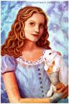Alice Portrait by JenyArtwork