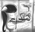 Octavia Violin Scratch
