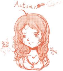 Autumn by Feline Orchid by Emosjournal