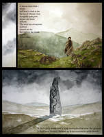 Sabriel graphic novel page
