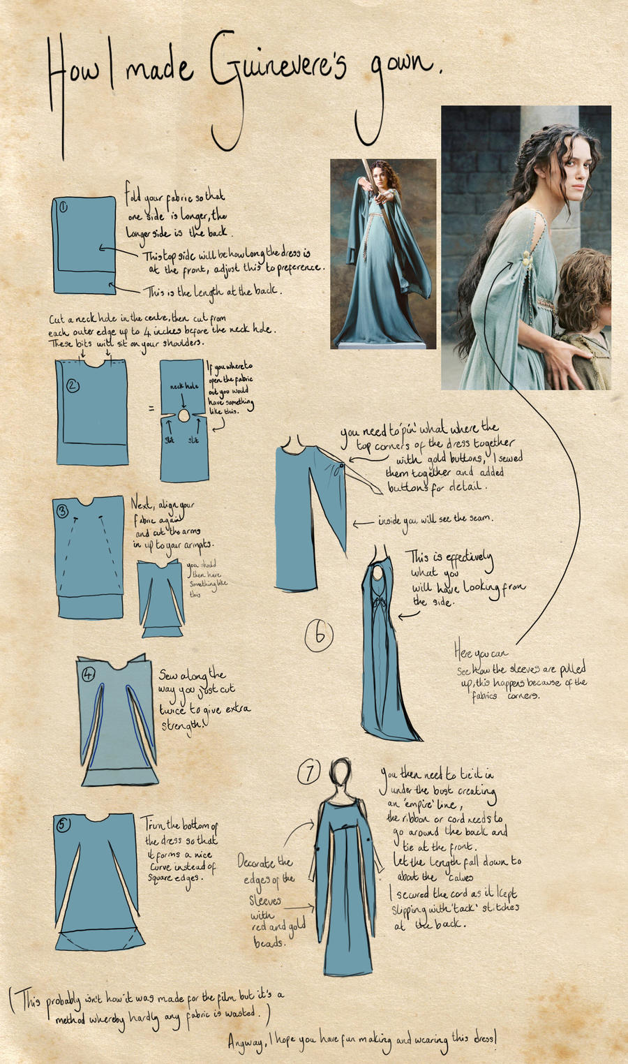Dress Tutorial by LauraTolton on DeviantArt