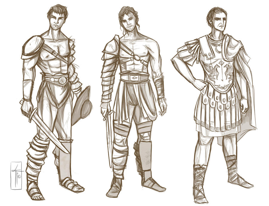 Character Sketches by LauraTolton on DeviantArt