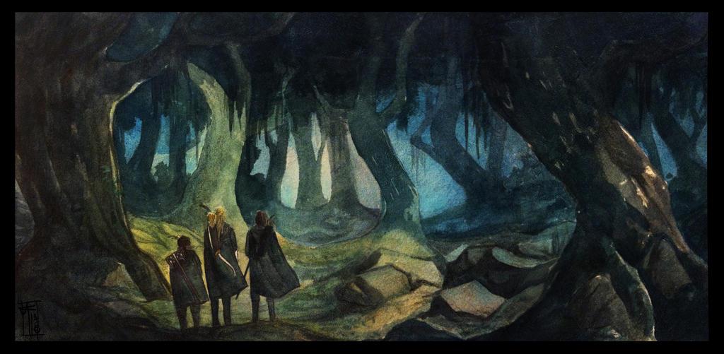 Fangorn by LauraTolton
