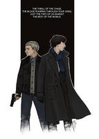 Sherlock and John by LauraTolton