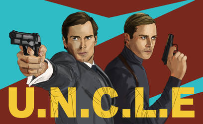 The Man From U.N.C.L.E by LauraTolton