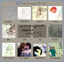 2009 Summary of Art by Scooperchan