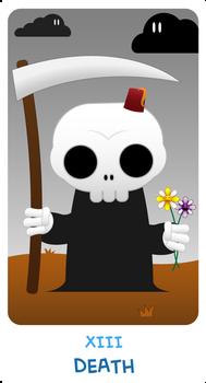 Chibi Tarot: XIII - Death