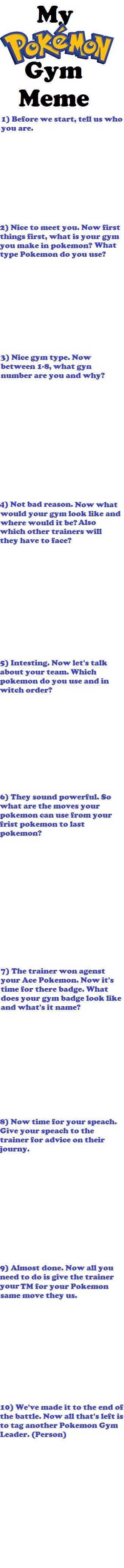 My Pokemon Gym Meme by Light-He-arth