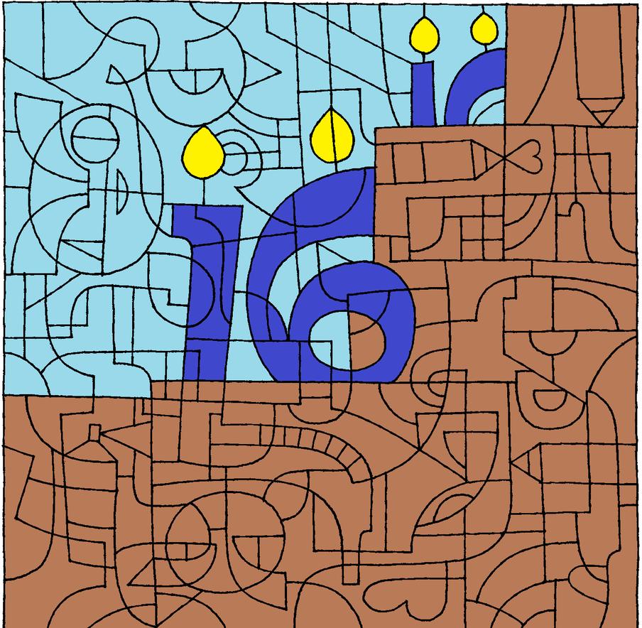 Deviantart Birthday Cake by Light-He-arth