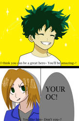 You like him, don't you~? (MHA Open Collab) by Light-He-arth